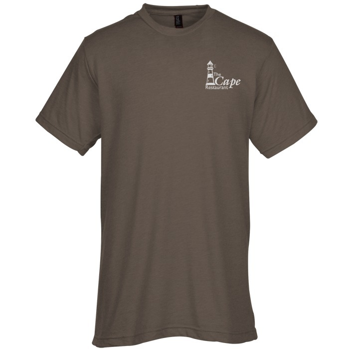 ab6c99277 4imprint.ca: M&O Fine Blend T-Shirt - Men's - Screen C143383-M-S