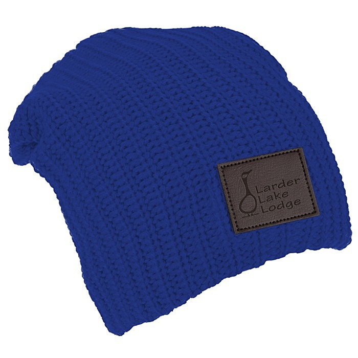 c7eb175051c 4imprint.ca  Slouch Patch Beanie C150406
