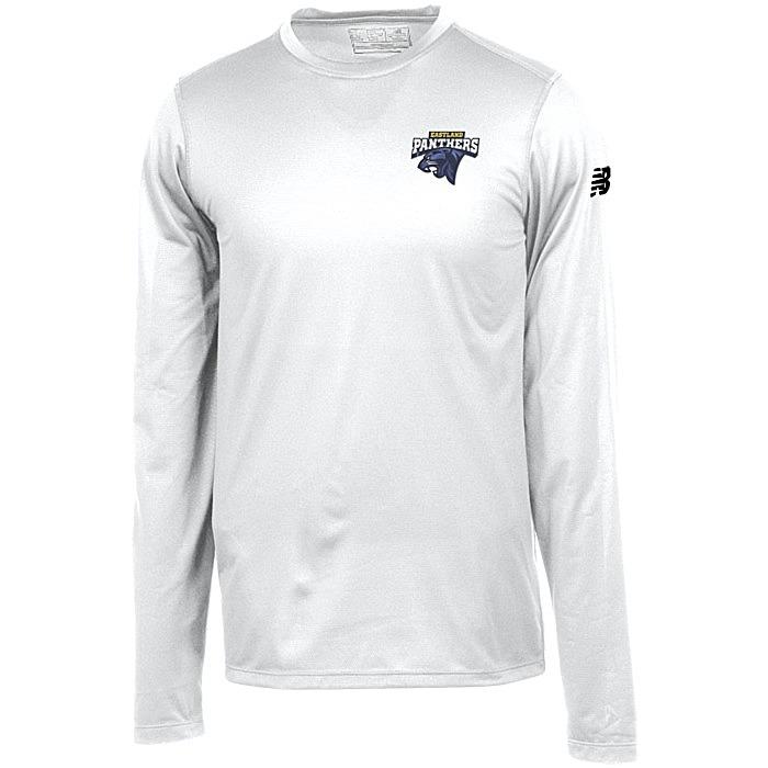 4456a5378fff7 4imprint.ca: New Balance Athletic LS T-Shirt - Men's - Embroidered ...