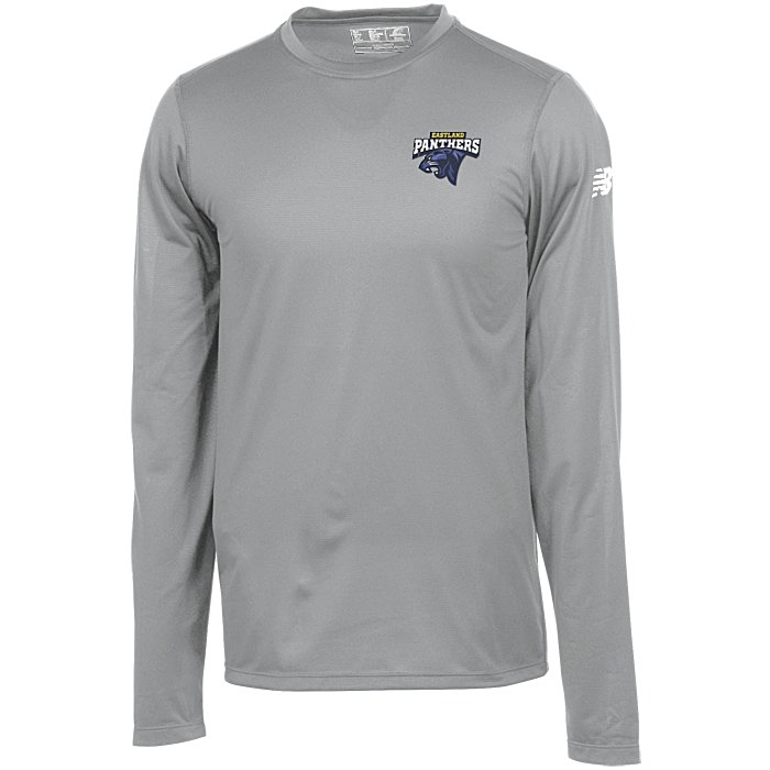 dfed08407 4imprint.ca: New Balance Athletic LS T-Shirt - Men's - Embroidered ...