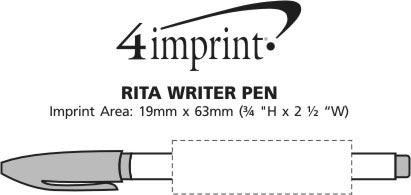 Imprint Area of Rita Writer Pen