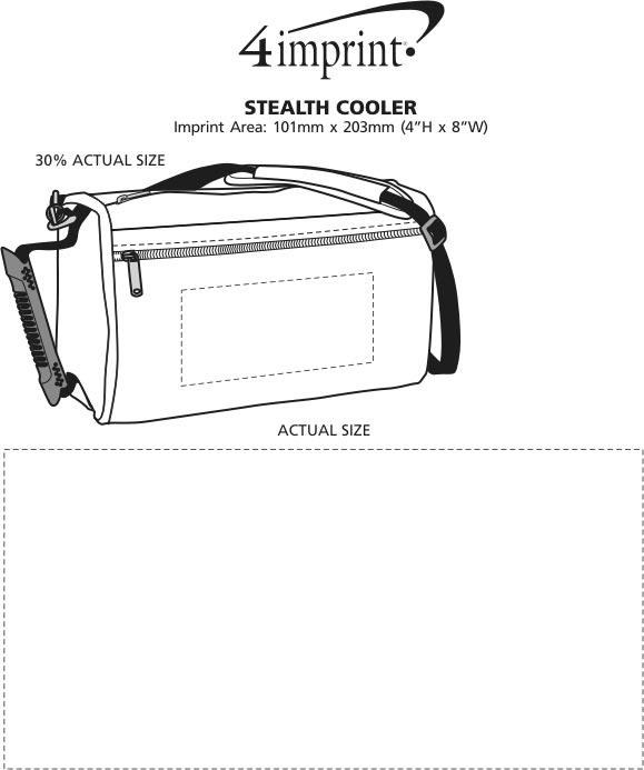 Imprint Area of Stealth Cooler