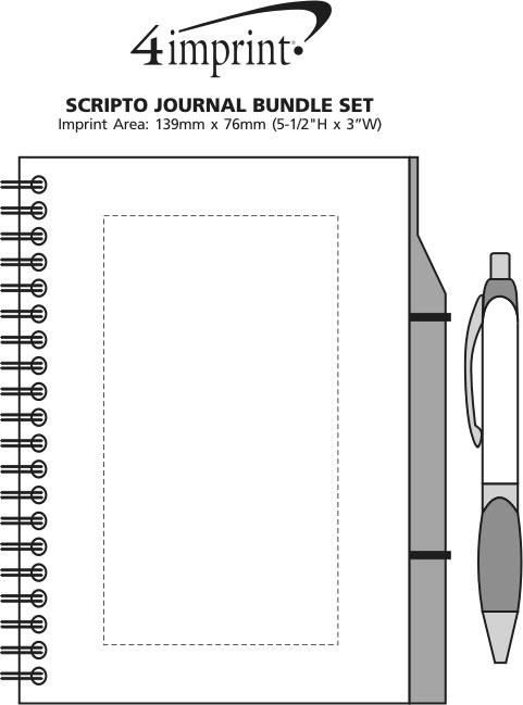 Imprint Area of Scripto Journal Bundle Set