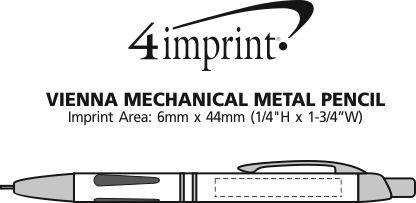 Imprint Area of Vienna Metal Mechanical Pencil