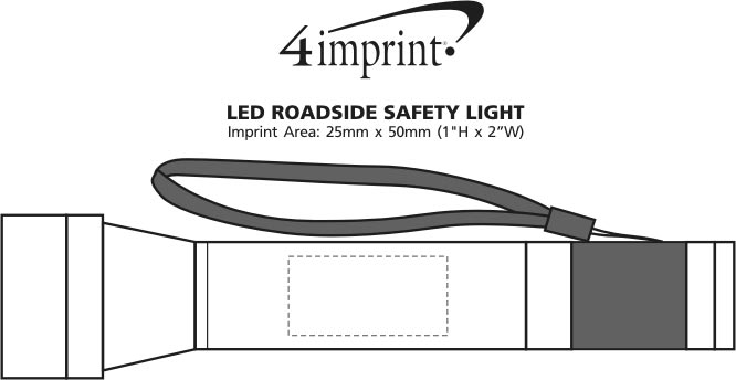 Imprint Area of LED Roadside Safety Light