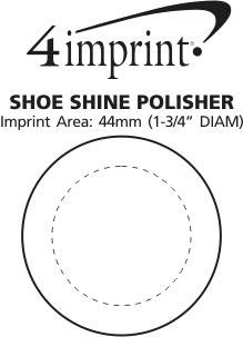 Imprint Area of Shoe Shine Polisher