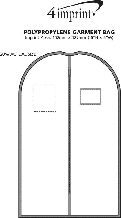 Imprint Area of Non-Woven Garment Bag
