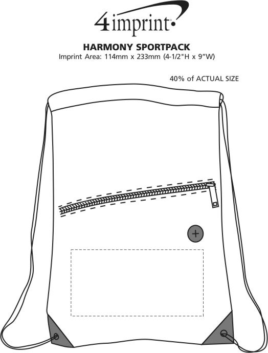 Imprint Area of Harmony Sportpack