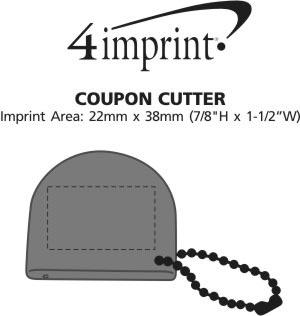 Imprint Area of Coupon Cutter