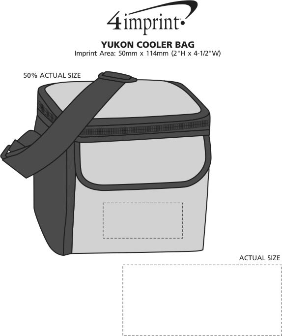 Imprint Area of Yukon Cooler Bag