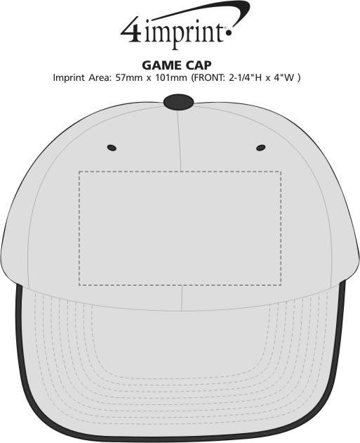 Imprint Area of Game Cap