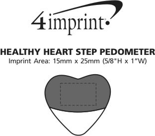 Imprint Area of Healthy Heart Step Pedometer