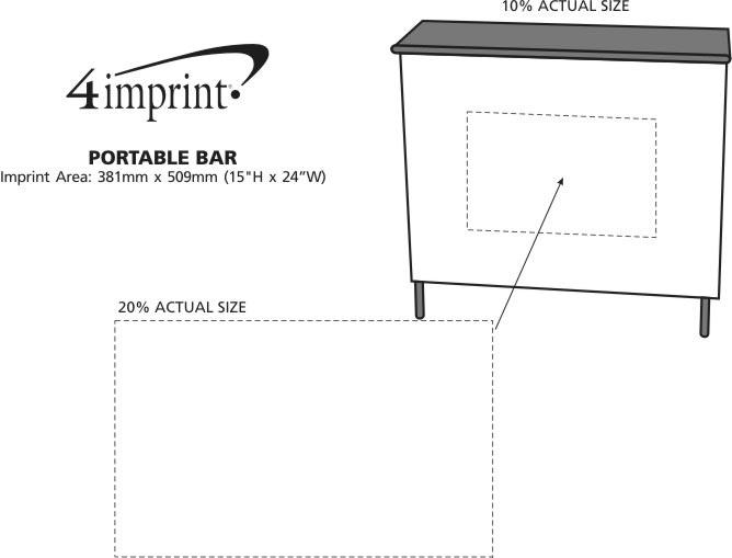 Imprint Area of Portable Bar