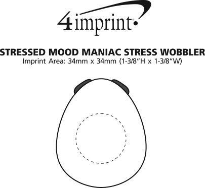 Imprint Area of Stressed Mood Maniac Stress Wobbler