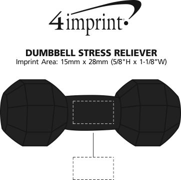 Imprint Area of Dumbbell Stress Reliever
