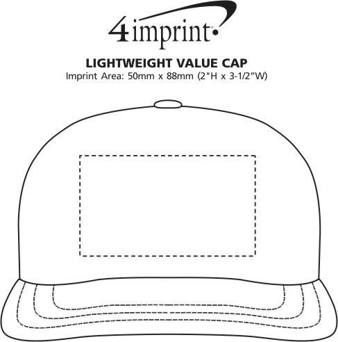Imprint Area of Lightweight Economy Cap