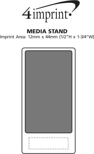 Imprint Area of Media Stand
