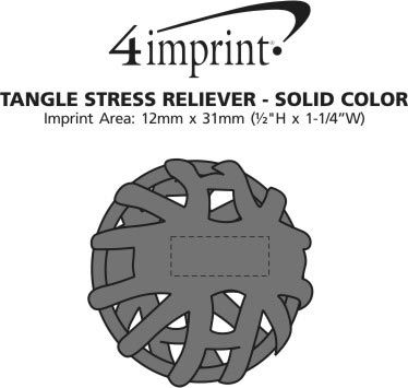 Imprint Area of Tangle Stress Reliever - Solid