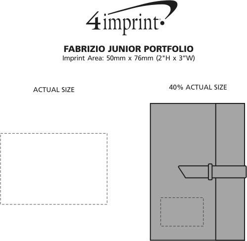 Imprint Area of Fabrizio Junior Portfolio