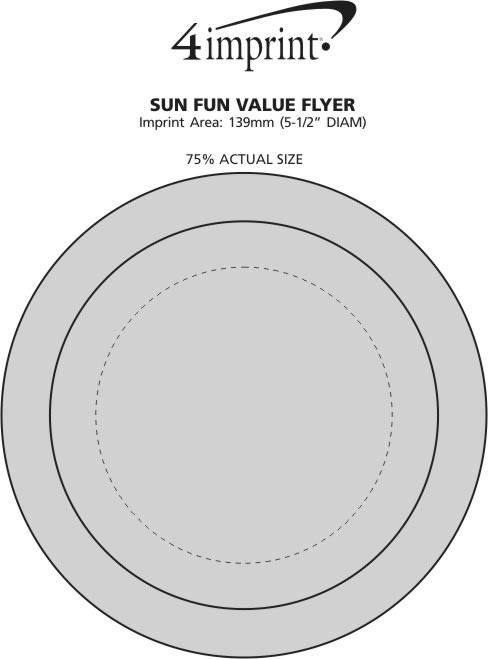 Imprint Area of Sun Fun Flyer