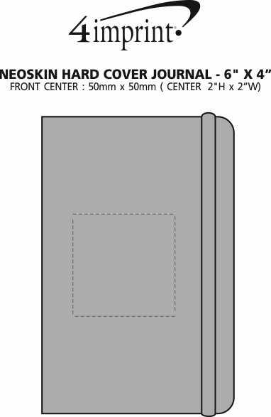 "Imprint Area of Neoskin Journal - 6"" x 4"""