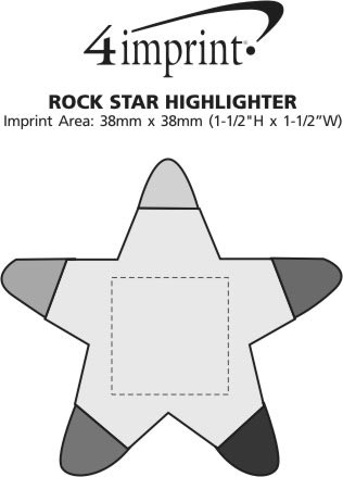 Imprint Area of Rock Star Highlighter