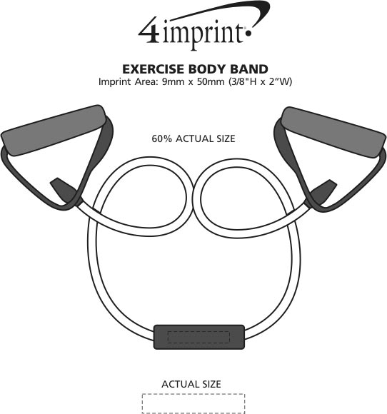 Imprint Area of Exercise Body Band