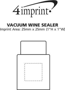 Imprint Area of Vacuum Wine Sealer