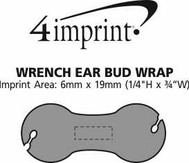 Imprint Area of Wrench Ear Bud Wrap