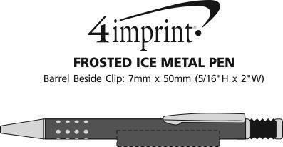 Imprint Area of Frosted Ice Metal Pen