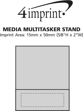 Imprint Area of Media Multitasker Stand