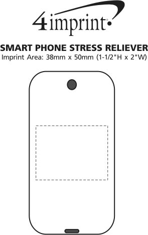 Imprint Area of Smartphone Stress Reliever