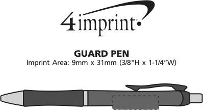 Imprint Area of Guard Pen