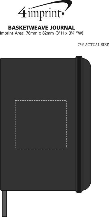 Imprint Area of Basketweave Journal