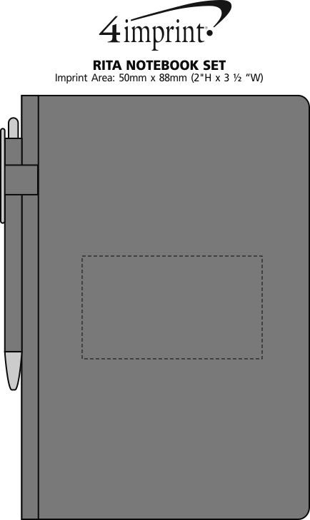 Imprint Area of Rita Notebook Combo