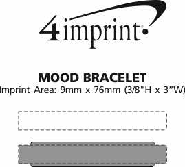 Imprint Area of Mood Bracelet