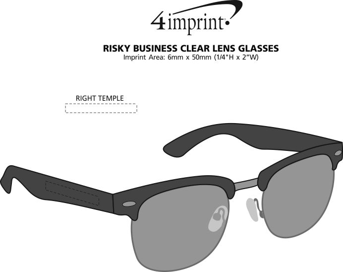 Imprint Area of Vintage Chic Sunglasses