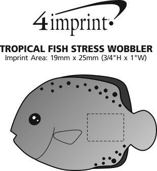 Imprint Area of Tropical Fish Stress Wobbler