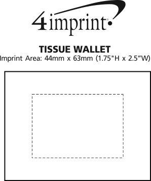 Imprint Area of Tissue Wallet