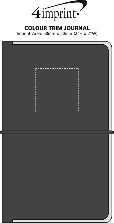 Imprint Area of Colour Trim Journal