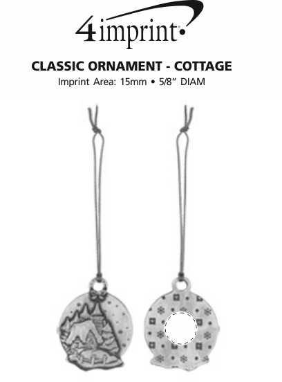 Imprint Area of Classic Ornament - Cottage