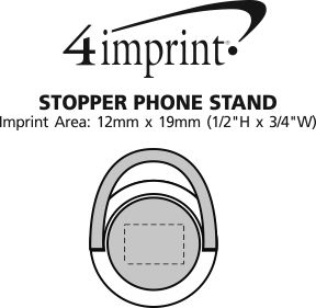 Imprint Area of Stopper Phone Stand