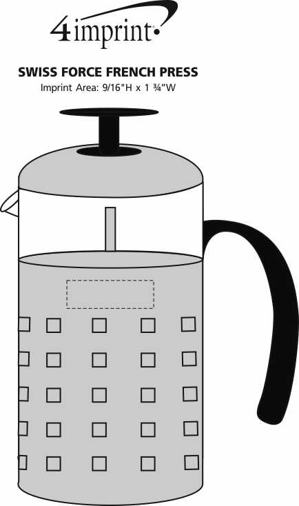 Imprint Area of Swiss Force French Press