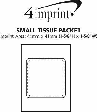 Imprint Area of Small Tissue Packet