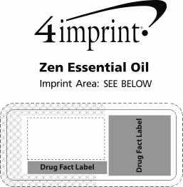 Imprint Area of Zen Essential Oil - Exhale