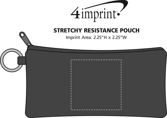 Imprint Area of Stretchy Resistance Pouch