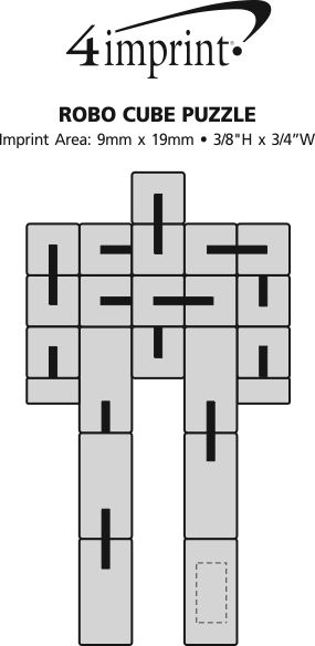 Imprint Area of Robo Cube Puzzle
