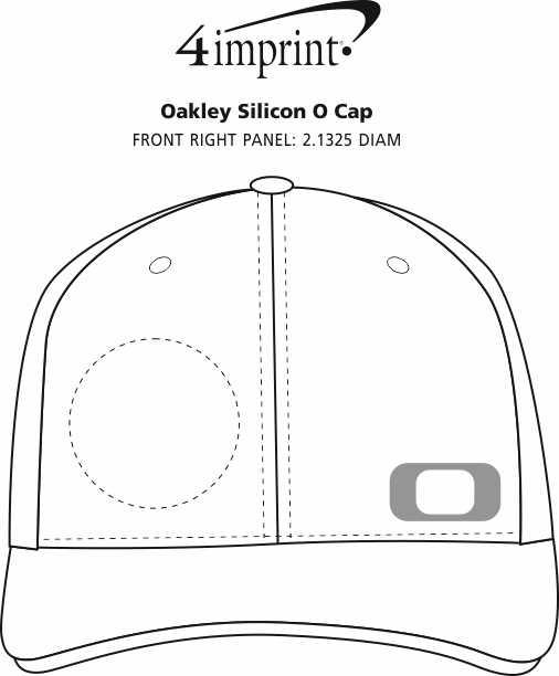 Imprint Area of Oakley Silicon O Cap