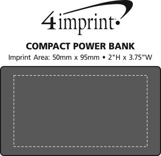 Imprint Area of Compact Power Bank