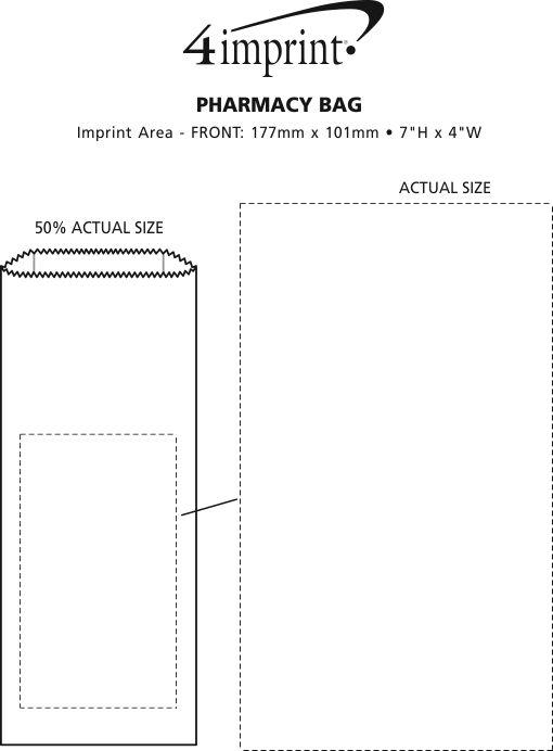 Imprint Area of Pharmacy Bag